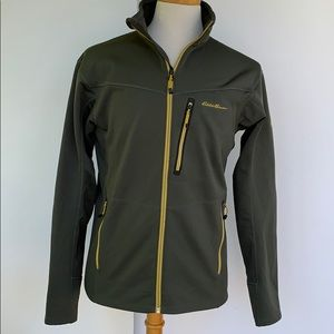 Eddie Bauer First Ascent Full Zip Fleece Jacket. M